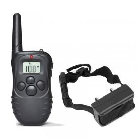 Collar perro eléctrico con pilas X821C 300m 100 Niveles descargas