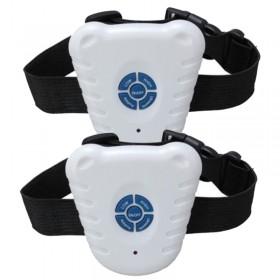 Dos Collares antiladridos ultrasonidos para dos perros