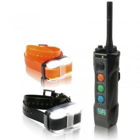 Dogtra 4502 EDGE Dos Collares de adiestramiento 1600m + 2 Collares LED Localización
