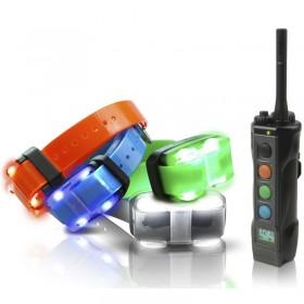 Dogtra 4504 EDGE Cuatro Collares de adiestramiento 1600m + 4 Collares LED Localización