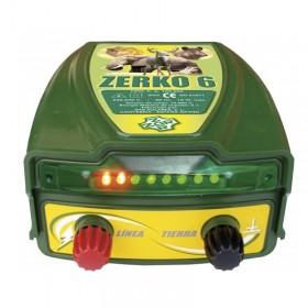 Pastor eléctrico Zerko-Red. 6 julios de potencia 30 km Alcance control luminoso