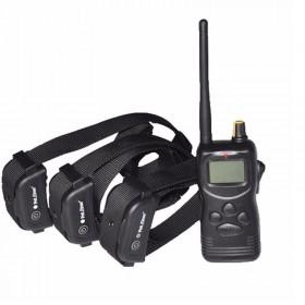 Petrainer PET900B3 E-Collar adiestramiento caza 3 Perros 1kilometro