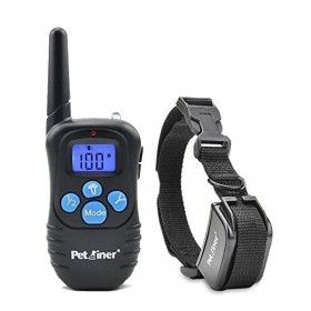 Petrainer PET998 DRB1 E- Collar adiestramiento Resistente al agua