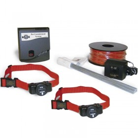 Valla Invisible Petsafe Radio Fence + 2 collares ultralight razas Pequeñas